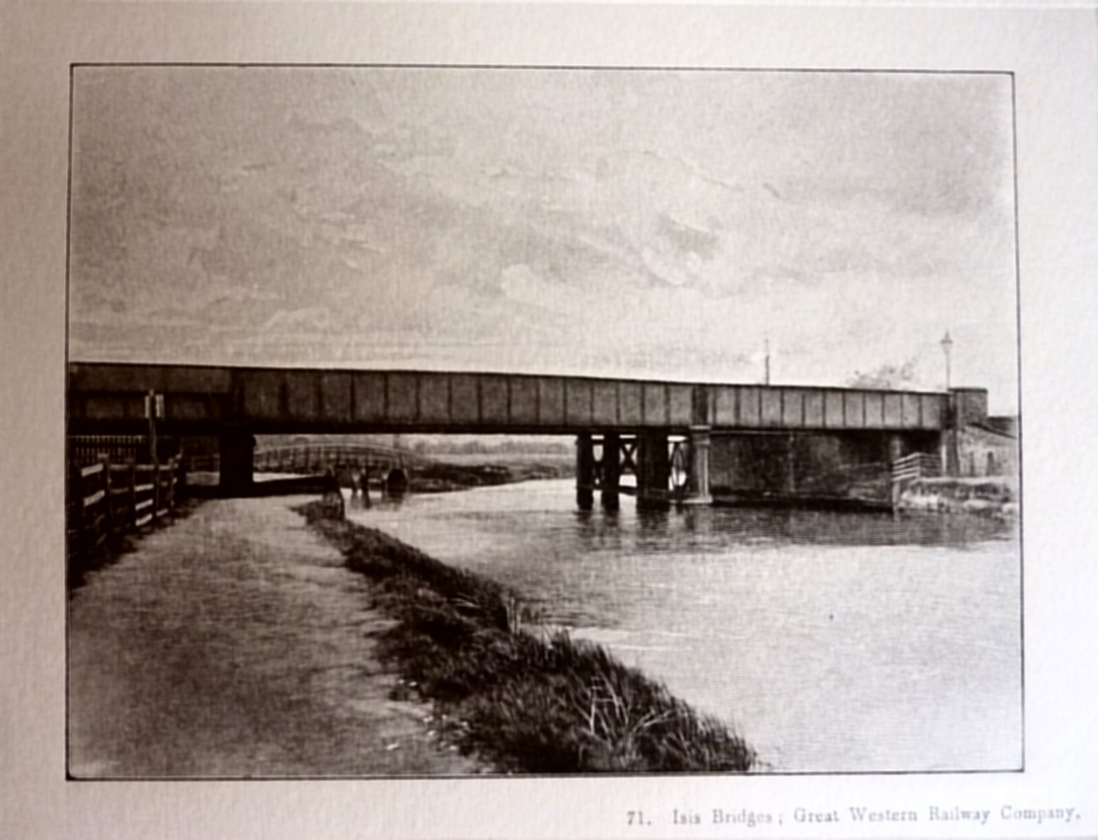 [GWR Isis Bridge for gasworks spur Dredge 1897]