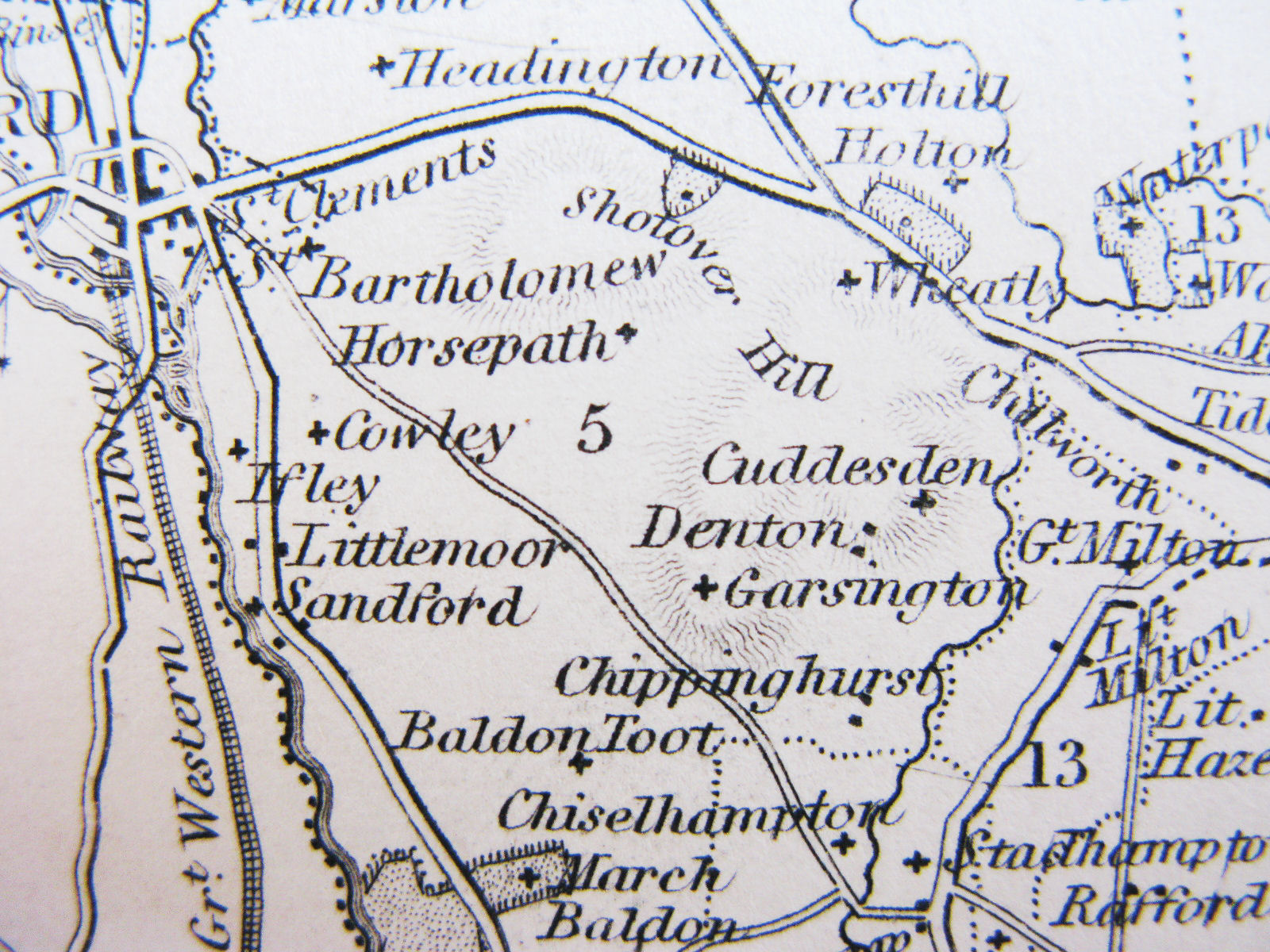 Thomas Moule map date between 1842  1844