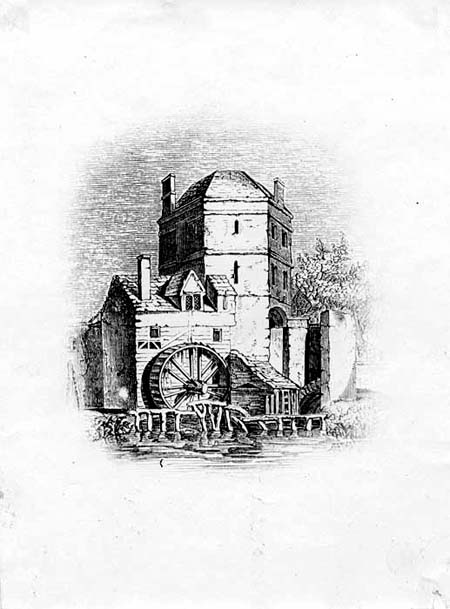 [Folly Bridge waterwheel and Friar Bacons study HT132]