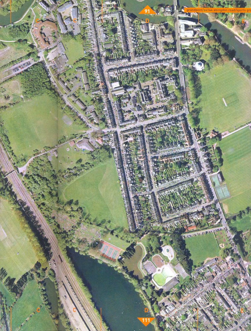 Grandpont from the air smaller